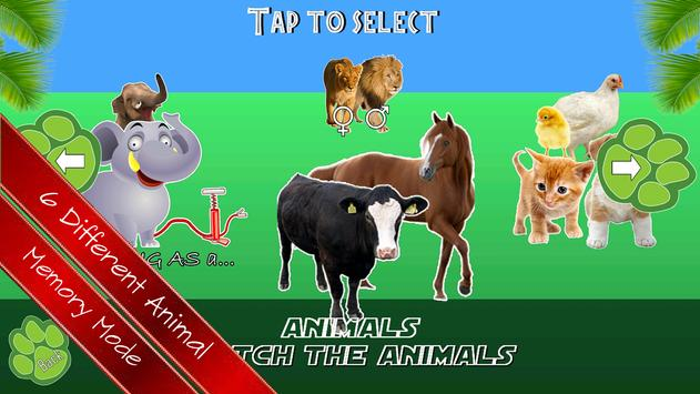 Animal memory Game For Kids screenshot 16