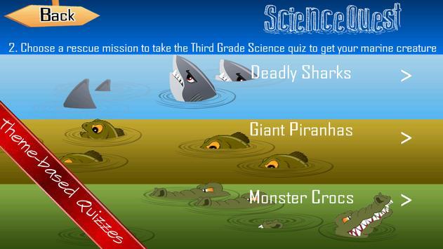 Science Quest Quiz Sixth Grade apk screenshot
