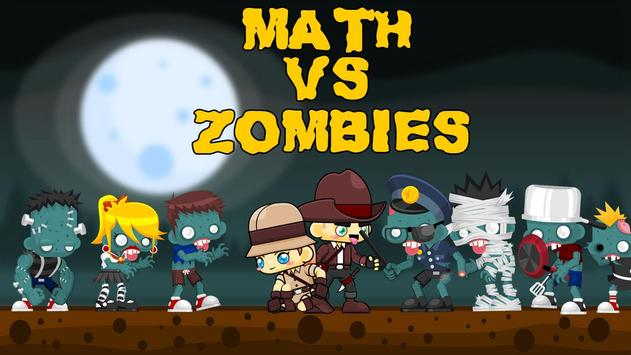 Math Vs Zombies poster