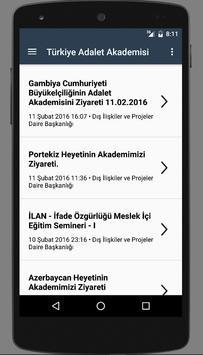 Türkiye Adalet Akademisi(TAA) screenshot 1