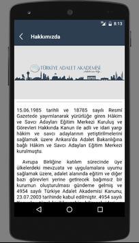 Türkiye Adalet Akademisi(TAA) screenshot 3