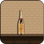 Impossible bottle flip challenge : free jump game icon