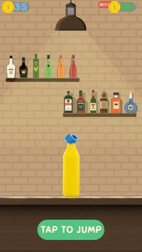 Impossible bottle flip challenge : free jump game screenshot 9