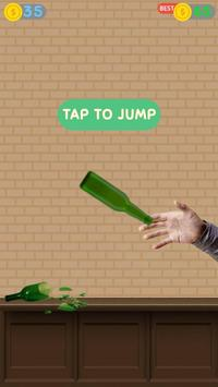 Impossible bottle flip challenge : free jump game screenshot 12