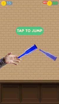 Impossible bottle flip challenge : free jump game screenshot 15