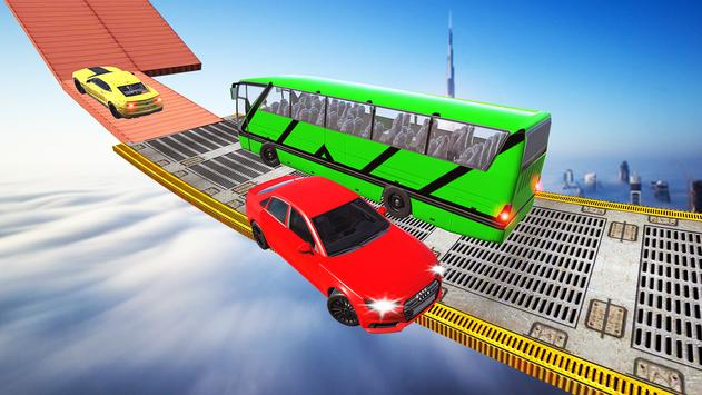 Impossible Bus Tracks Stunts Coach Driving Sim screenshot 1