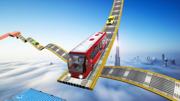Impossible Bus Tracks Stunts Coach Driving Sim screenshot 2