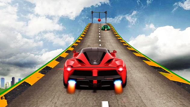 Car Stunt Racing On Impossible Track poster