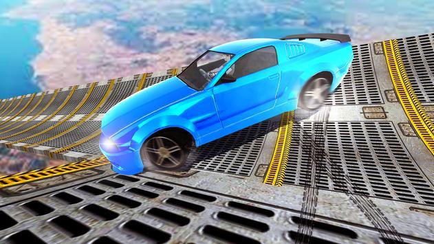 Car Stunt Racing On Impossible Track screenshot 2
