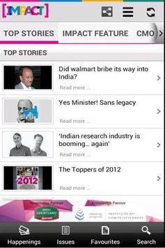 ImpactOnNet screenshot 1