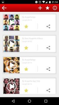 Best of Acapella apk screenshot
