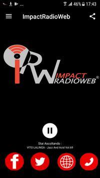 Impactradioweb apk screenshot