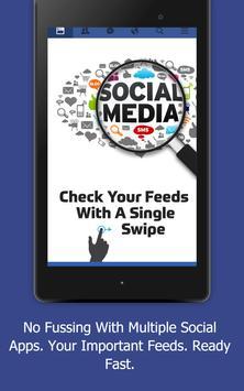 Social Launcher - Fast & Simple Social Updates apk screenshot