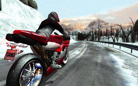Frozen Highway Bike Rider screenshot 7
