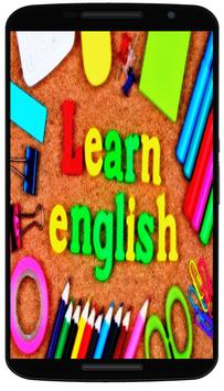 corso di inglese gratis poster
