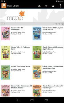 Maple Library screenshot 12