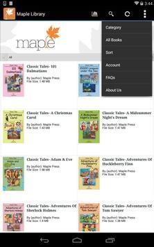Maple Library screenshot 13