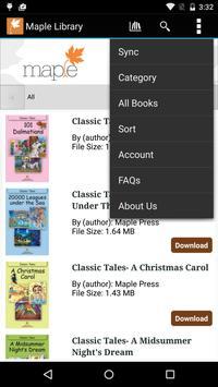 Maple Library screenshot 3