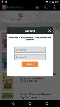 Maple Library screenshot 4