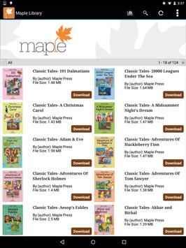 Maple Library screenshot 7