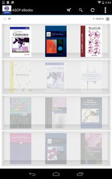 ASCP eBooks apk screenshot
