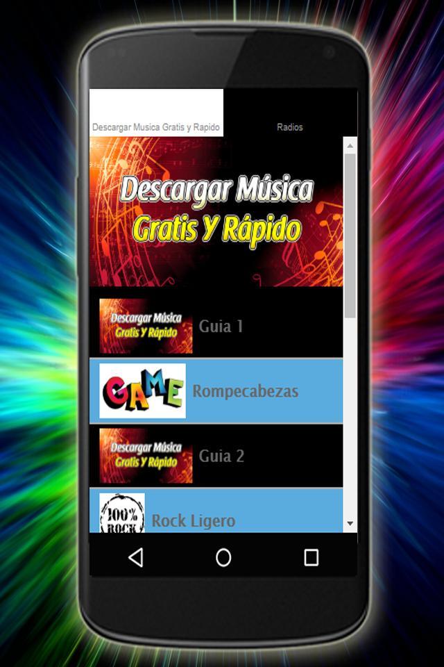 Descargar Música Grátis y Rápido mp3 Español Guía for