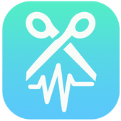 Mp3 cutter and audio editor icon