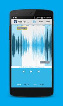 Mp3 cutter and audio editor apk screenshot