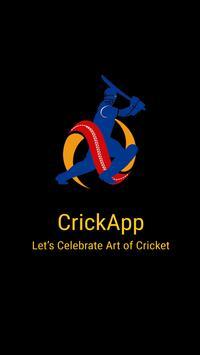 CrickApp apk screenshot