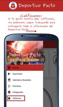 Deportivo Pasto App screenshot 4