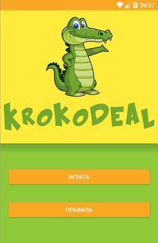 Krokodeal poster