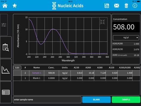 Implen NanoPhotometer Tablet screenshot 9