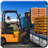 Construction Simulator: City Truck Parking Game 3d icon