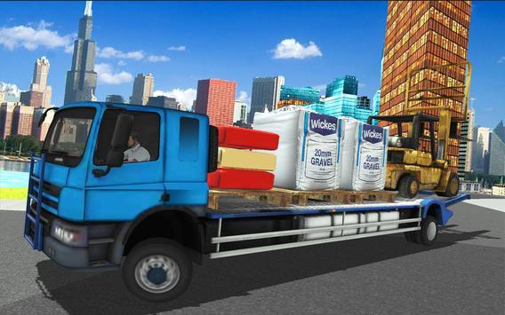 Forklift Construction Truck Driving Simulator 2018 screenshot 22