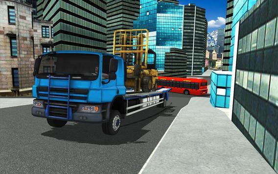 Forklift Construction Truck Driving Simulator 2018 screenshot 6