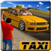 City Taxi Driver sim 2016: Cab simulator Game-s icon