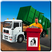 Garbage Truck Simulator 2017: 3D Trash Dump driver icon