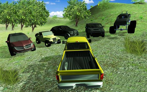 4X4 off road simulator: real car racing 3d 2017 poster