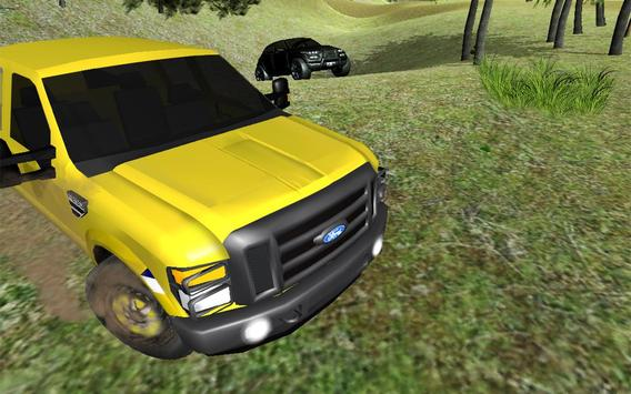 4X4 off road simulator: real car racing 3d 2017 apk screenshot