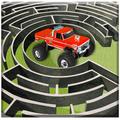Monster Truck Maze Driving 2020: 3D RC Truck Games