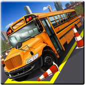 Real Bus Parking 3D Pro 2017 icon