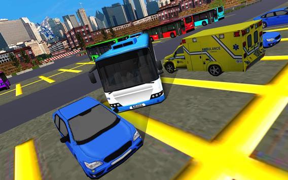 Real Bus Parking 3D Pro 2017 apk screenshot