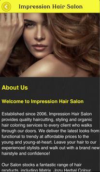 Impression Hair Salon screenshot 1
