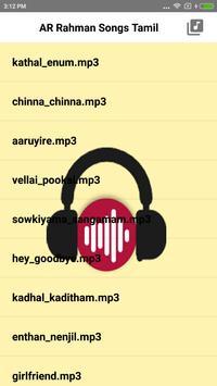 AR Rahman Hit Songs Tamil poster