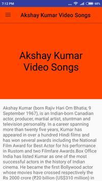 Akshay Kumar Hit Video Songs screenshot 1