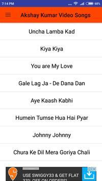 Akshay Kumar Hit Video Songs screenshot 2