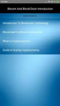 BitCoin and  BlockChain Introduction poster