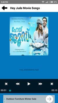 Hey Jude Movie Songs - Malayalam screenshot 3