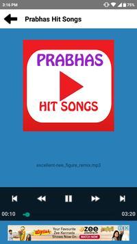 Prabhas Hit Songs apk screenshot