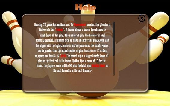 Bowling Game 3D apk screenshot